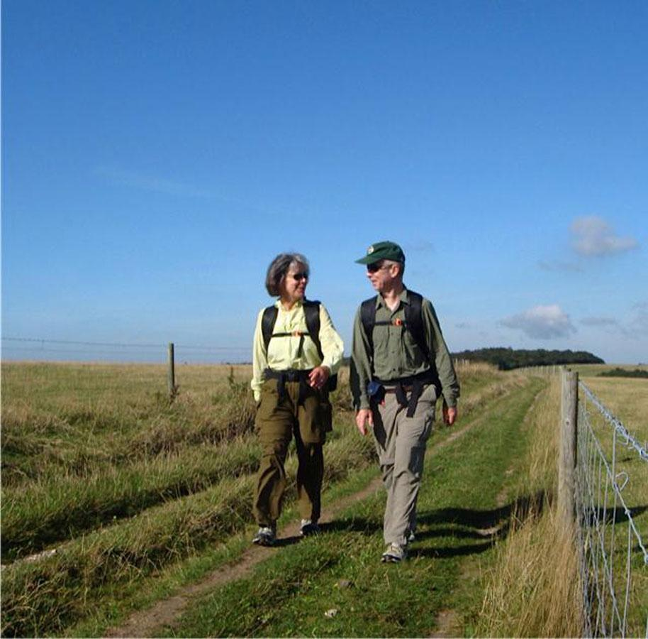 Martha and Robert Manning  have walked dozens of long trails.
